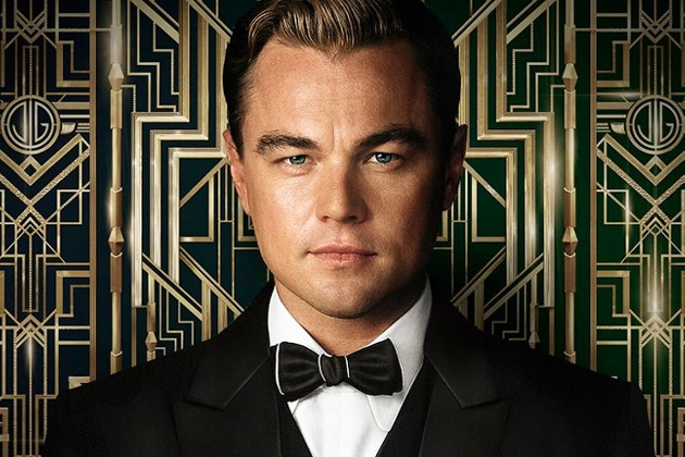 Leonardo diCaprio as Gatsby.