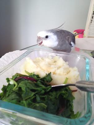 So tasty - thanks, Mom!