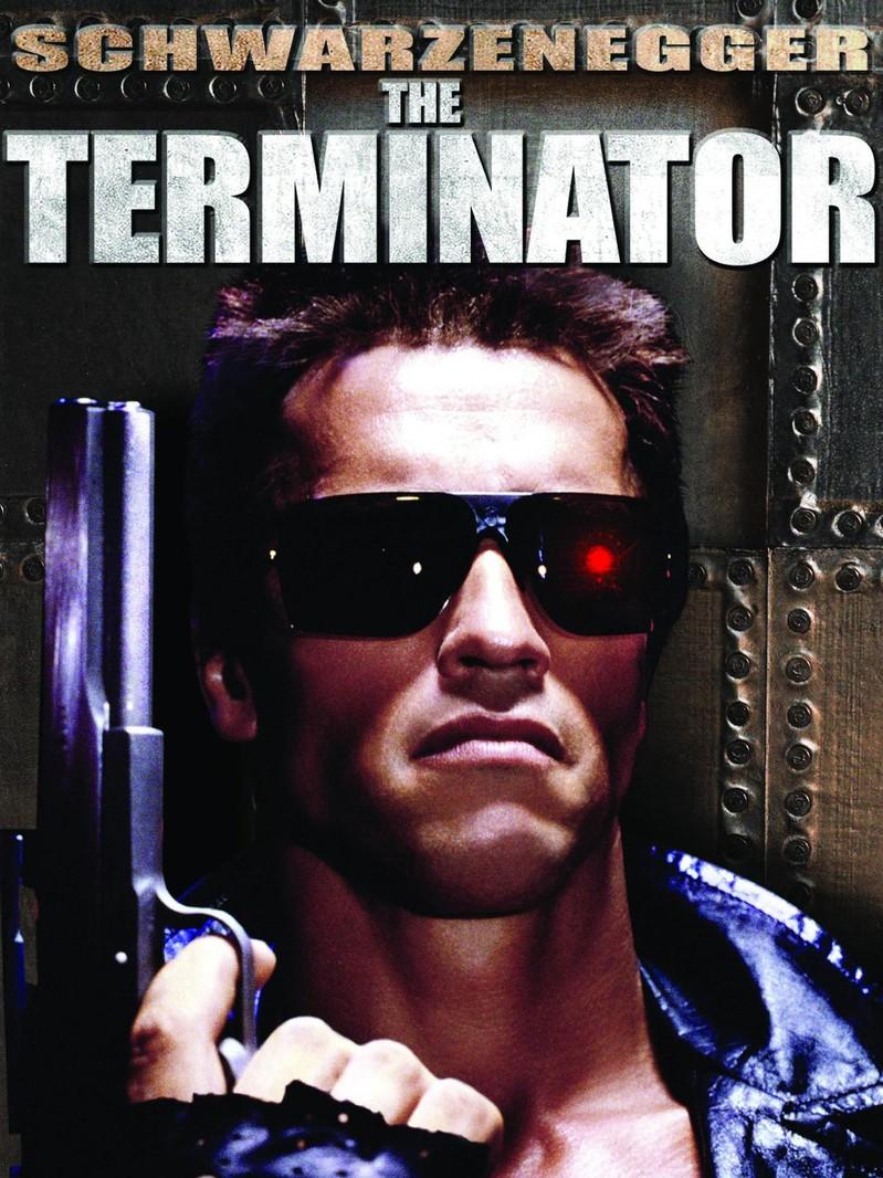 "Arnold in ""Terminator."""