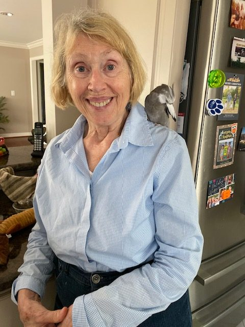 Cockatiel with Grandma